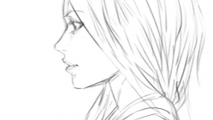 Drawing Of A Girl Sideways Girl Side View Sketch by Bunsyo On Deviantart Art Stuff 3