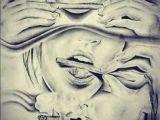 Drawing Of A Girl Smoking Weed Tattoo Weed Girl Smoking Drawing