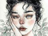 Drawing Of A Girl Studying 788 Besten Draw A Bilder Auf Pinterest Sketches Art Sketches Und