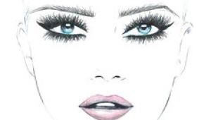 Drawing Of A Girl with Makeup 73 Best Makeup Sketches Images Makeup Inspo Mac Face Charts Mac