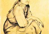 Drawing Of A Gypsy Girl Gypsy Woman Art Gypsy Woman Walter Sauer Gypsy Art Drawings