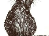 Drawing Of A Mean Cat 2291 Best Cat Drawings Images Cat Art Drawings Cat Illustrations
