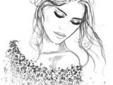 Drawing Of A Model Girl 104 Best Face Illustration Images Drawing Faces Pencil Art Art