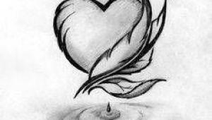 Drawing Of A Pretty Heart Dibujos De Amor Faciles 3 Drawingsa Drawi