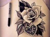 Drawing Of A Rose and Heart 34 Best Heart Rose Tattoo Images Pink Tattoos Rose Tattoos