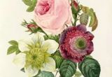 Drawing Of A Rose Bouquet Vintage Flower Bouquet Illustration Google Search Tattoos