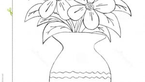 Drawing Of A Rose In A Vase How to Draw A Beautiful Flower Vase Pictures for Kids to Draw