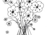 Drawing Of A Rose Vase New Black and White Rose Coloring Pages C Trade Me