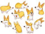 Drawing Of A Sleeping Dog Found On Google From Behance Net Corgis Corgi Character Design