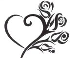 Drawing Of A Tribal Heart This is the Tattoo I Designed for Myself and Had Done by A