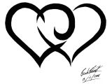 Drawing Of A Tribal Heart Tribal Hearts by songue On Deviantart Tattoos Tattoos Tribal