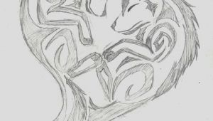 Drawing Of A Tribal Heart Wolf Heart Wolf Tribal Heart by Wolfhappy On Deviantart Tatoo