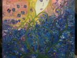 Drawing Of Blue Flowers Fairy Of Blue Flowers Mine Paintings