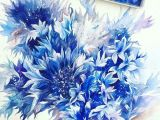 Drawing Of Blue Flowers Pin by Miss Boomb On Flowers In 2018 Watercolor Art Floral