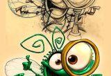 Drawing Of Bug Eye Bug Season Brand Hero Brand Mascot Dennis Jones Character