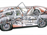 Drawing Of Bug Eye Color Cutaway Drawing Of Bugeye Sprite Turned Right Way Around the