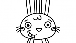 Drawing Of Bunny Eyes Drawing Bunny Rabbit How to Draw Bunny Step by Step Bunny