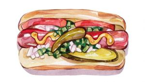 Drawing Of Dog Food by Laura Manfre F0 0d Drawings Pinterest Hot Dogs Dog Food