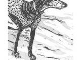 Drawing Of Dog Tracks 209 Best Greyhound Drawings Illust Images Greyhound Art