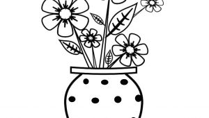 Drawing Of Easy Flower Pot Flowers to Draw Easy Step by Step Flower Pot for Drawing Sketches