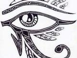 Drawing Of Egyptian Eye Egyptian Horus Eye Tattoo Design Idea Tattoo Splendiferous