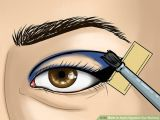 Drawing Of Eye Brown How to Apply Egyptian Eye Makeup with Pictures Wikihow
