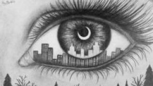 Drawing Of Eye with City Reflection 314 Best Art Eyes Pencil Pastel Oil Acrylic Watercolor and