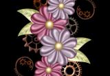 Drawing Of Flowers Border Floral Frames Borders Corners Pinterest Scrapbook