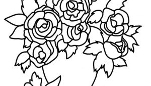 Drawing Of Flowers In Vase with Colour 30 Minimalist Drawing Of Flowers Helpsite Us