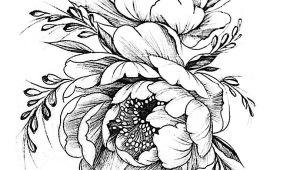 Drawing Of Flowers Tattoo Tattoovorlage Zeichnen Pinterest Tattoos Flower Tattoos Und