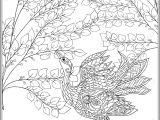 Drawing Of Flowers with Birds Decorative Flowers and Bird Coloring Book for Adult and Older