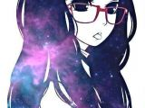 Drawing Of Galaxy Girl Anime Girl with Glasses Tumblr D D D D Dµ D N N D Dµd N D N D Dod D N N N N Dod D