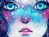 Drawing Of Galaxy Girl Galaxy Girl Papel De Parede Tattoo Und Art In 2018 Pinterest