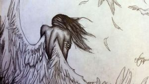 Drawing Of Girl Angel Pencil Drawings Of Angels and Demons Google Search Angel Wings