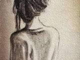 Drawing Of Girl Back Side Image Result for Woman From Side Drawing Short Hair Face