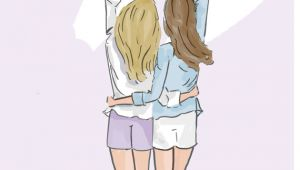 Drawing Of Girl Best Friends Best Friend Quotes Cards for Friends Cards for Sisters Cards