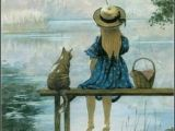 Drawing Of Girl Fishing 105 Best Gone Fishin Images Fishing Drawings Fish Art