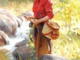 Drawing Of Girl Fishing 307 Best Fishing Images Fishing Pictures Drawings Fish Art