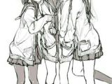 Drawing Of Girl Friends 253 Best Anime Best Friends Images In 2019 Anime Art Anime Girls