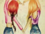 Drawing Of Girl Friends totally Gonna Draw This Love 3 Best Friend Drawings