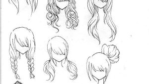 Drawing Of Girl Hairstyles Chibi Girl Hairstyles Google Search Sketches Hair