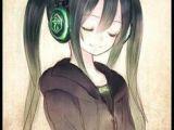 Drawing Of Girl Listening to Music Anime Girl Anime Pinterest