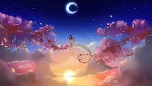 Drawing Of Girl Looking at Sky Girl Looking Up at the Stars Drawing Google Kereses Wonderland