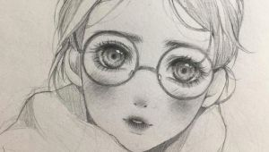Drawing Of Girl Looking Away Those Eyes that is What Got My attention Right Away It Was that