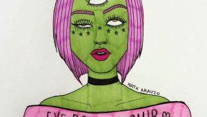 Drawing Of Girl Rolling Eyes Eye Rolling Club D D D Space Girl A In 2019 Drawings Art Art