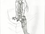 Drawing Of Girl Sitting Manga Girl Sitting Pencil and Paper Pinterest Manga Manga
