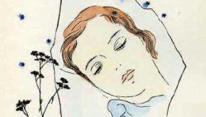 Drawing Of Girl Sleeping A Girl Sleeping Under the Stars toyen 1944 Art We Like