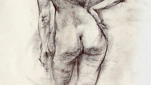 Drawing Of Girl Standing Image Result for Old Master Standing Nude Line Drawings Drawings