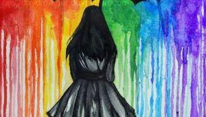 Drawing Of Girl Walking Away Walk Away Good Stuff In 2019 Painting Art Drawings