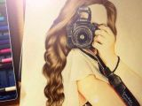 Drawing Of Girl with Camera Girl Camera and Drawing Image Girls2 Pinterest Drawings Art